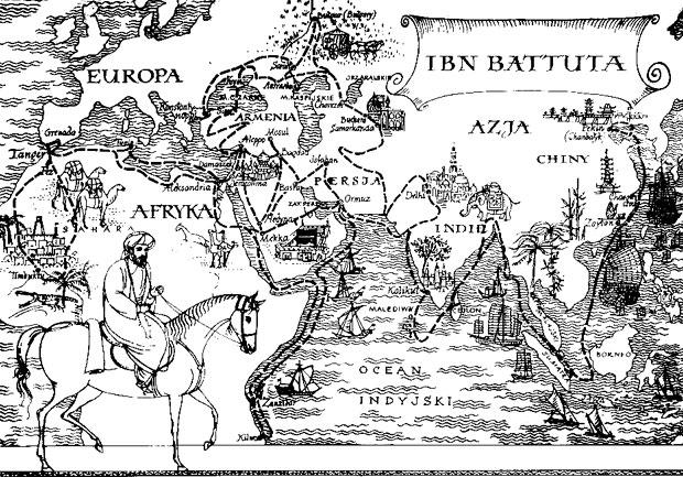 Ibn Battuta. Su libro le proporcionó un hueco en la historia