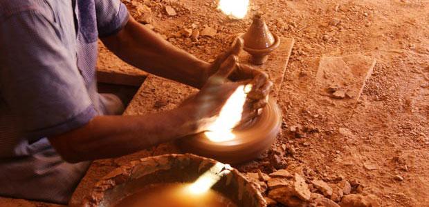 Tamegroute está a las puertas del desierto del Sáhara occidental