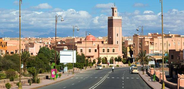 Uarzazate es parada de todo aquel que viaja al desierto de Sáhara