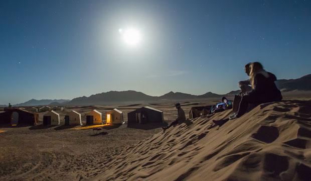 Si quieres dormir en una jaima en Marrakech debes ir a Agafay