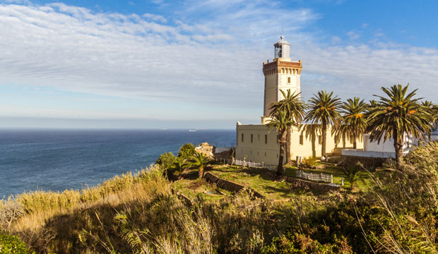A un lado del Estrecho de Gibraltar se encuentra el Cabo Espartel en Tánger