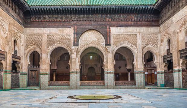 Algo que ver en la medina de fez (Marruecos) digno de adimirar son las madrazas