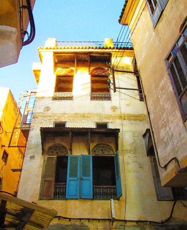 Detalles típicos de la mellah de Fez