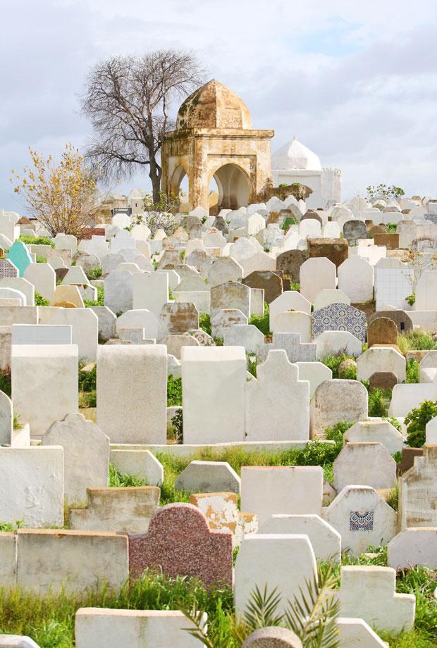 El cementerio judío en la medina Fez el-Jdid