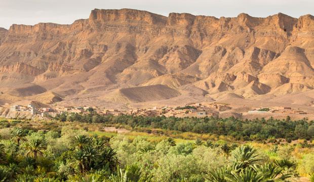 El valle del Draa es para algunos el oasis más bonito de Marruecos