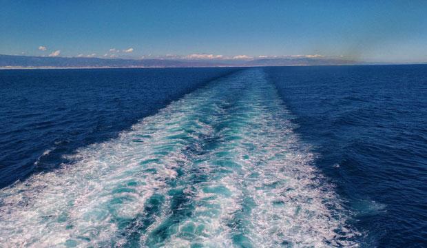 Habitualmente se cruza el Estrecho de Gibraltar en Ferry