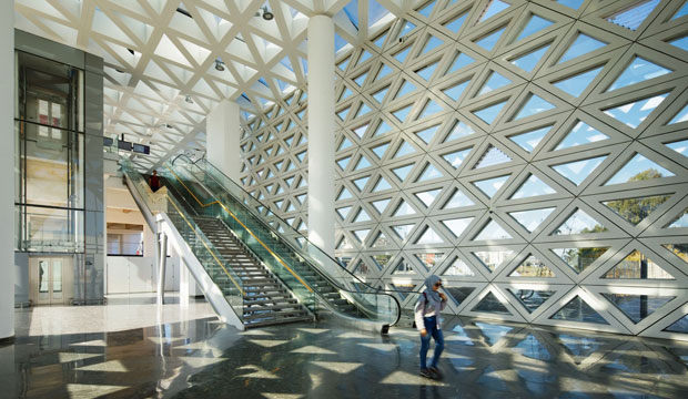 Kenitra Train Station. Arquitectura moderna de Marruecos