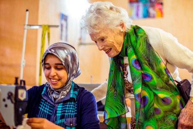 La Fundación Eve Branson ayuda a los jóvenes de las comunidades cercanas a la Kasbah Tamadot