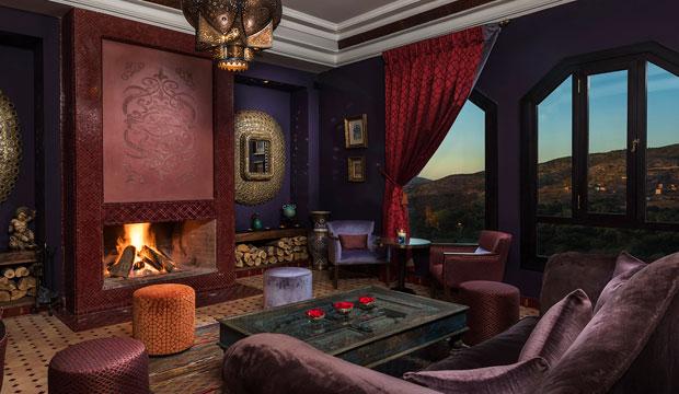 La kasbah Tamadot dispone de 28 habitaciones, incluidas 10 lujosas suites bereberes