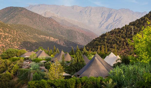 La kasbah Tamadot posee campamentos bereberes