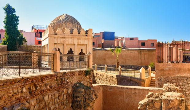 Si queremos visitar lo mejor de Marrakech en dos días deberíamos acercanos a la Kubba Almorávide
