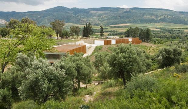 Volubilis Visitor Center. Arquitectura marroquí contemporánea