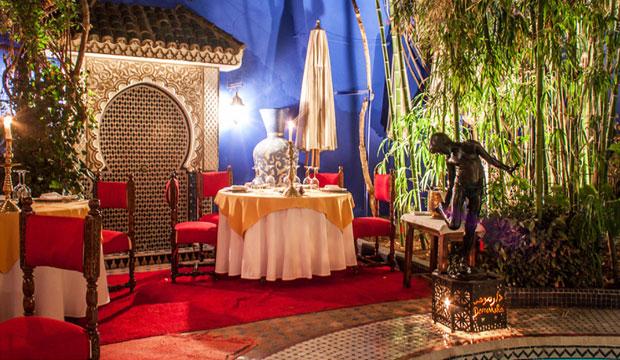 Dar Moha está en el top de los restaurantes de Marrakech