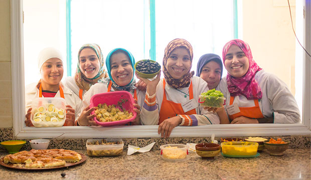 El restaurante Amal abre de 12 a 18, con posibilidad de comida para llevar