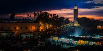 Koutoubia. La Mezquita Kutubía en Marrakech