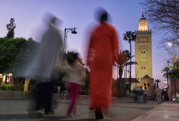 No se puede entrar en la Kutubia en Marrakech a no ser que seas musulmán