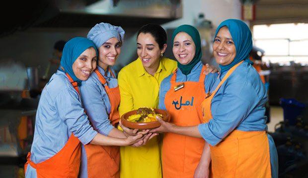 Restaurante Amal en Marrakech
