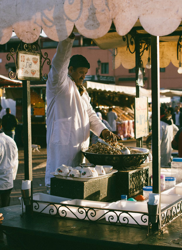 Si necesitas un restaurante vegetariano en Marrakech o un restaurante en Marrakech diferente visita Le Tanjia
