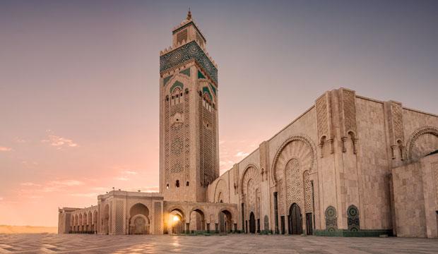 Casablanca en Otoño, el mármol como espejo