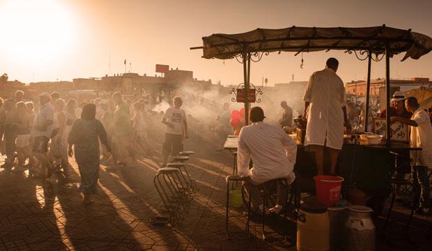 Marrakech en Otoño, la ciudad roja