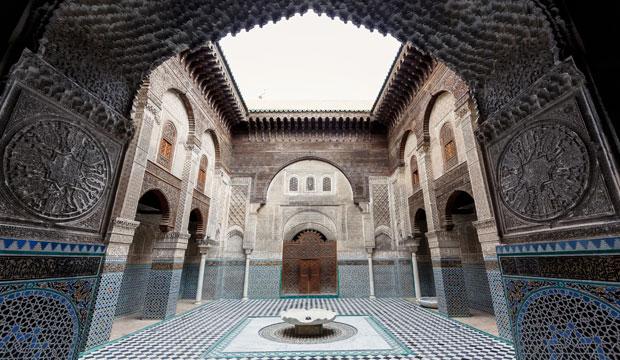 Qué ver en Fez en 1 día. Si sólo dispones de ese tiempo te interesará la Madraza Attarine