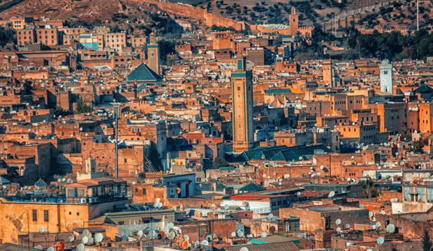 Una de las cosas que ver en la medina de Fez es el mirador para disfrutar de una panorámica