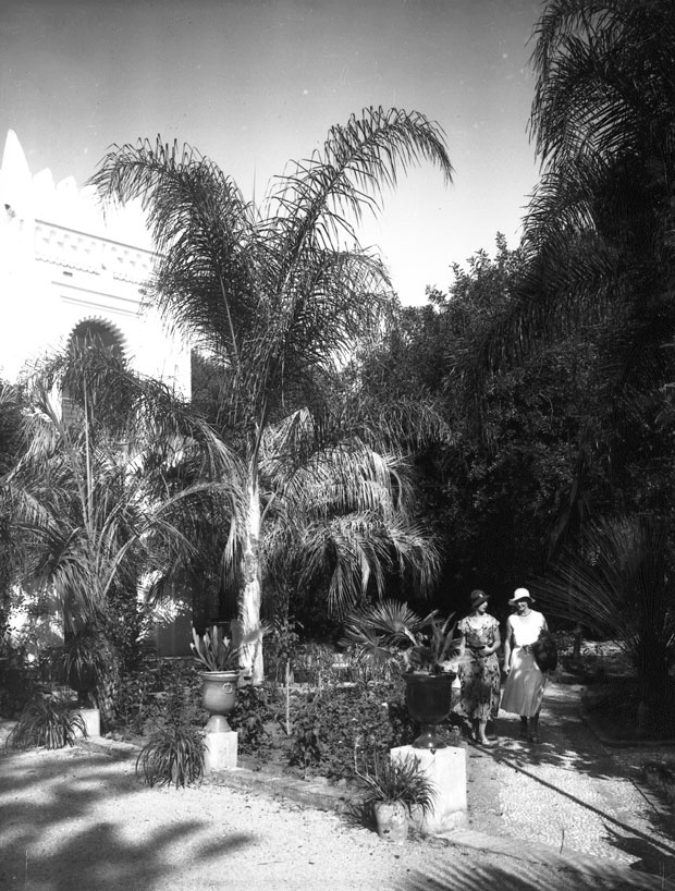 Villa Harris en Tánger posee un enorme jardín de 9 hectáreas