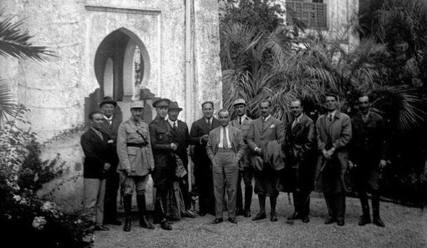 Villa Harris guarda entre sus paredes las conversaciones de las reuniones políticas y diplomáticas