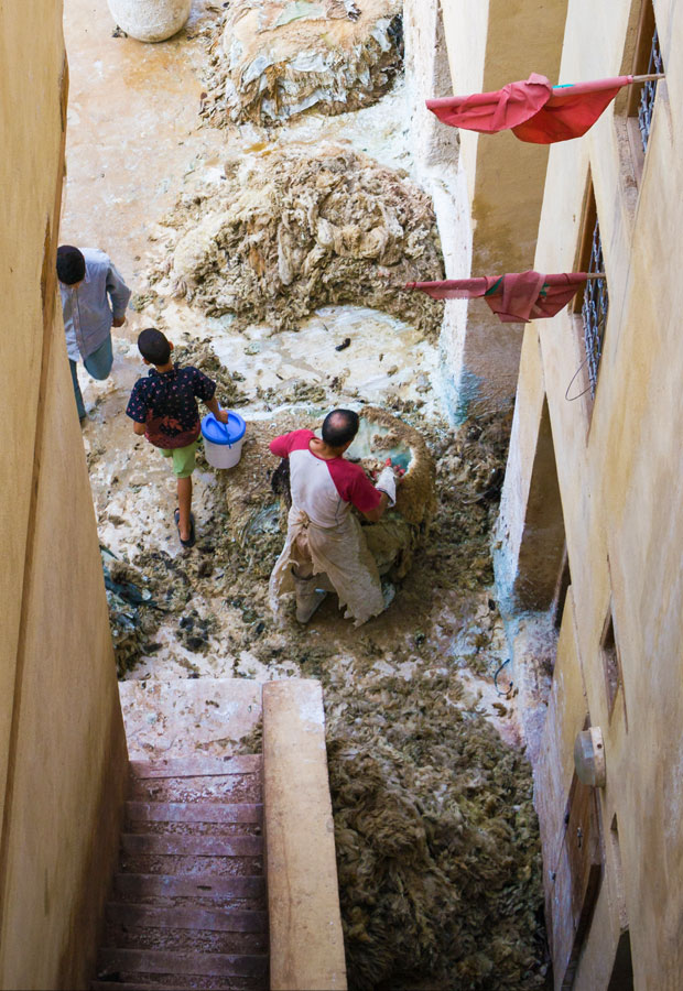 A pesar de que los curtidores de Fez provocan sensaciones incómodas se debe vivir la experiencia