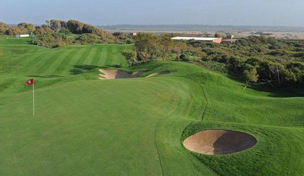 Golf du Palais Royal, en Agadir es un de los mejores campos de golf en Marruecos