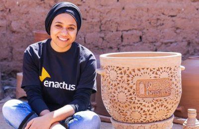 Raowia Lahmar es la creadora de la nevera del desierto y fundadora de Go Energyless