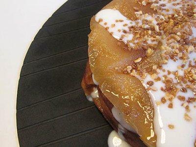 Receta de pastela de leche o pastela dulce, también conocida como ktefa o jawhara
