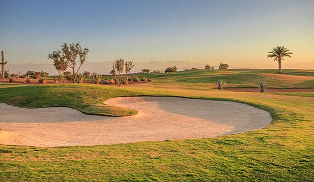 Samanah Country Club en un campo de golf de Marruecos, en la ciudad de Marrakech