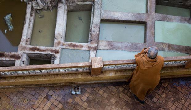 Si preguntas a los ciudadanos, te dirán que los curtidores en Fez existen desde el siglo IX