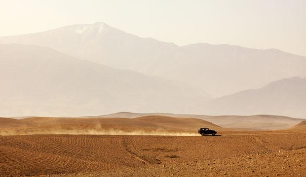 Pasar una noche en el desierto de Agafay es una buena opción si no dispones de mucho tiempo