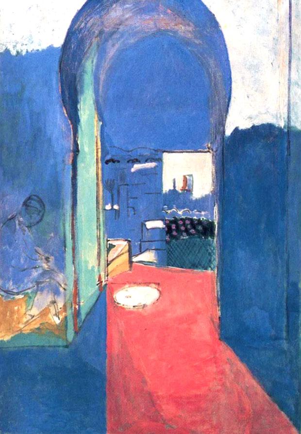 La puerta de la Casbah, pintura de Henri Matisse en Tánger