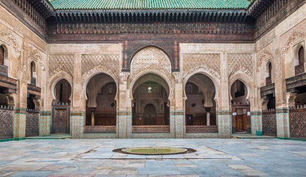 Madraza de Bou Inania en Fez. Medersa bouanania