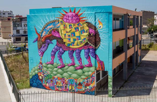 Gracias a Jidar en Rabat los muros de Rabat se van llenando de historias