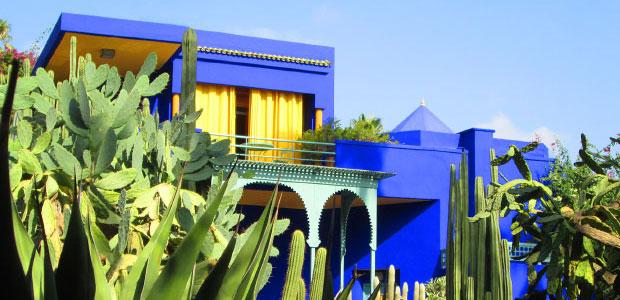 Guía de Marrakech. Jardines Majorelle