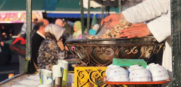 Información sobre Marrakech. Dónde comer