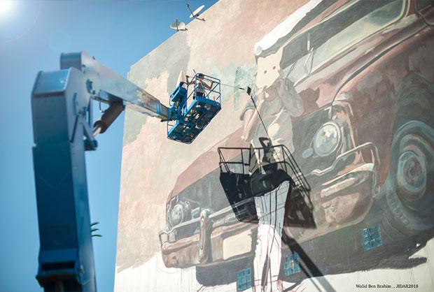 Jidar en Rabat convoca a artistas urbanos internacionales