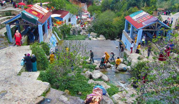 Los lavaderos es una de las estampas imprescindibles que ver en Chefchaouen