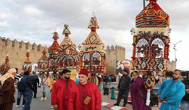 Moussem Dour Chmaa o Procesión de los Cirios de Salé