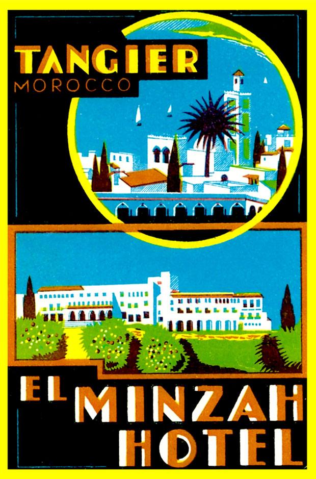 Hotel Minzah en Tánger es un alojamiento con solera