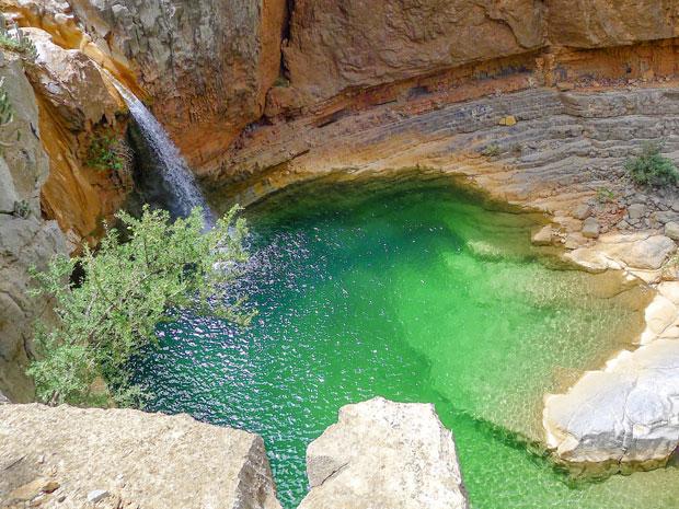 Paradise Valley son una de las mejores cataratas de Marruecos y cuenta con lagos de un verde esmeralda