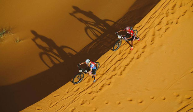 A menudo, por su dureza se le denomina a la Titan Desert como El Dakar de las bicicletas