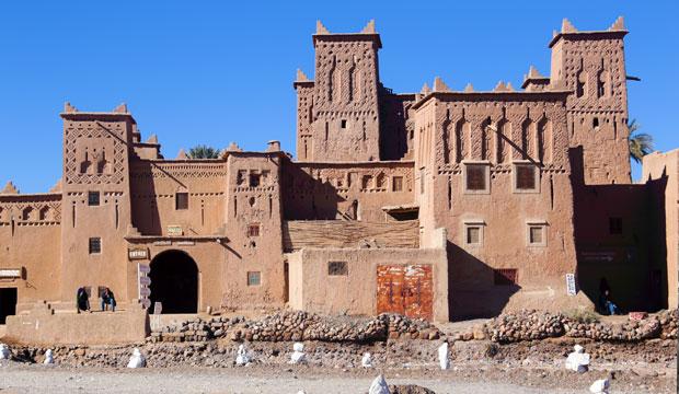 Las kasbahs son otra forma de alojamiento en Marruecos