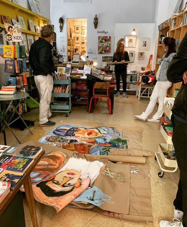 librería Les Insolites de Tánger es un punto de encuentro habitual de escritores y artistas