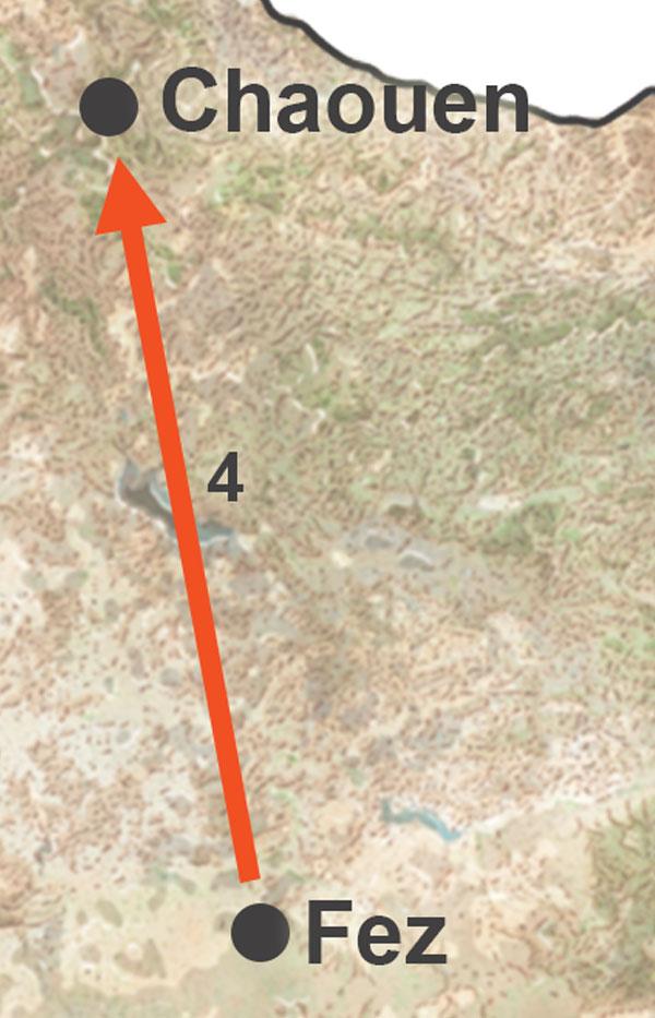 Excursión a Chaouen desde Fez. Excursión desde Fez a Chefchaouen