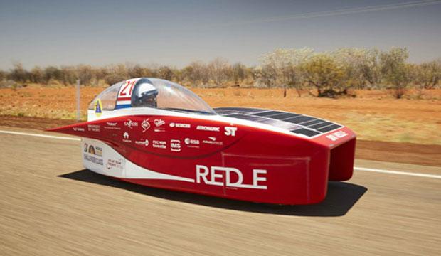 El Red E utilizaba células solares de arseniuro de galio